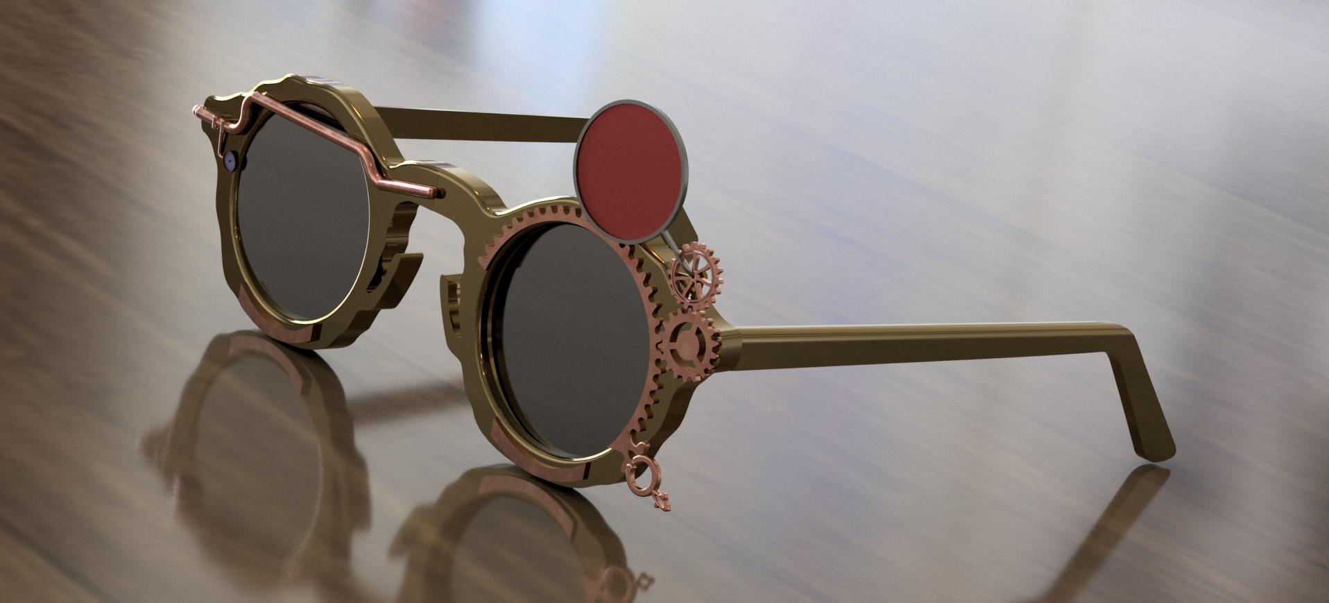 Lunettes de soleil steampunk