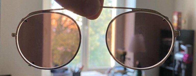 Lunettes sur-mesure fabriquée par un lunetier bordelais